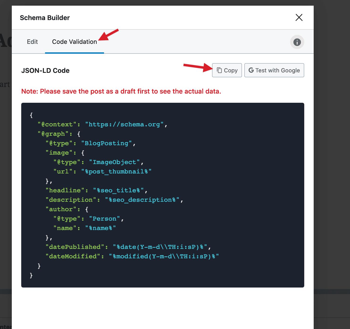 非WordPress网站添加结构化